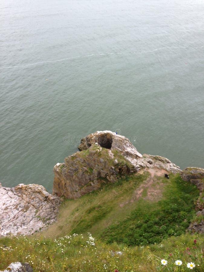 Jagody głowa, Brixham, Devon fotografia royalty free