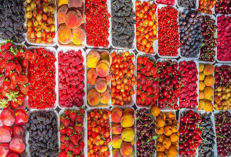 Jagody i owoc zdjęcie stock