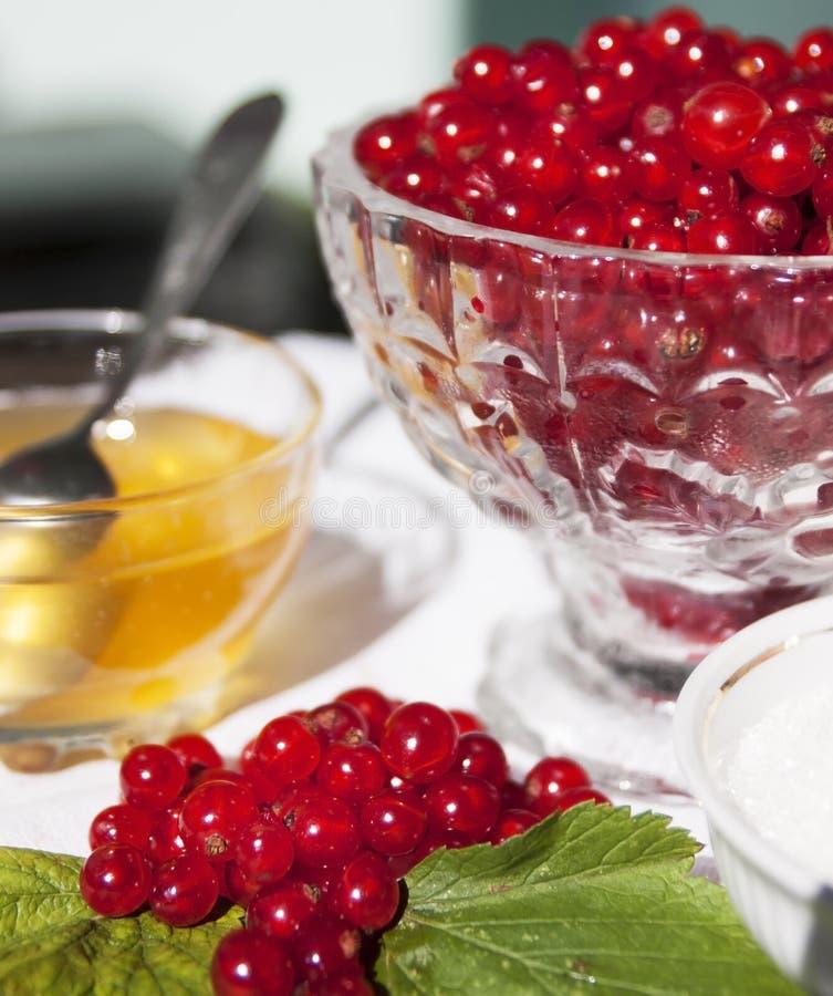 jagody na stole obraz stock