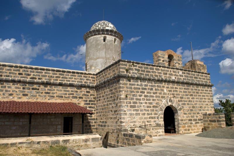 Jaguafort, Cienfuegos, Cuba stock afbeelding