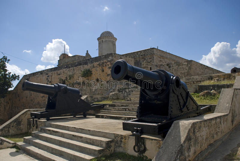 Jaguafort, Cienfuegos, Cuba royalty-vrije stock fotografie