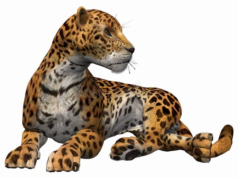 Jaguar illustration stock