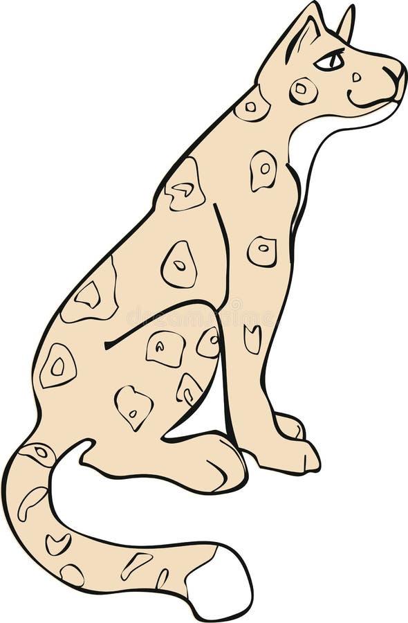 jaguar royalty illustrazione gratis