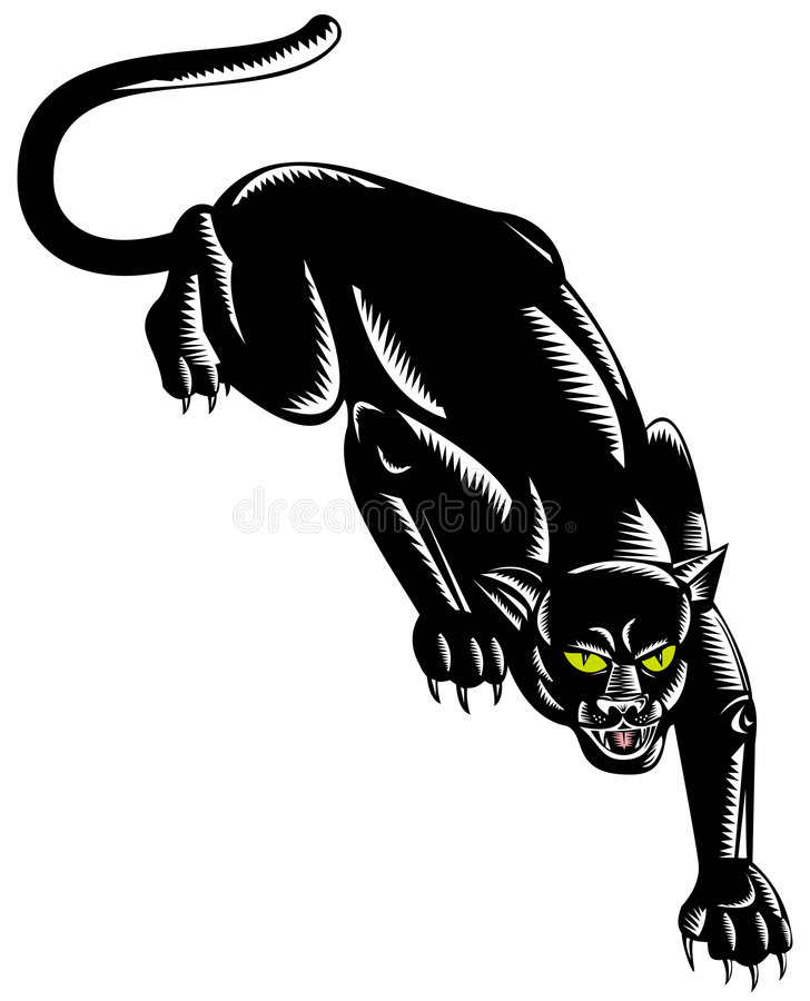 Jaguar illustration libre de droits