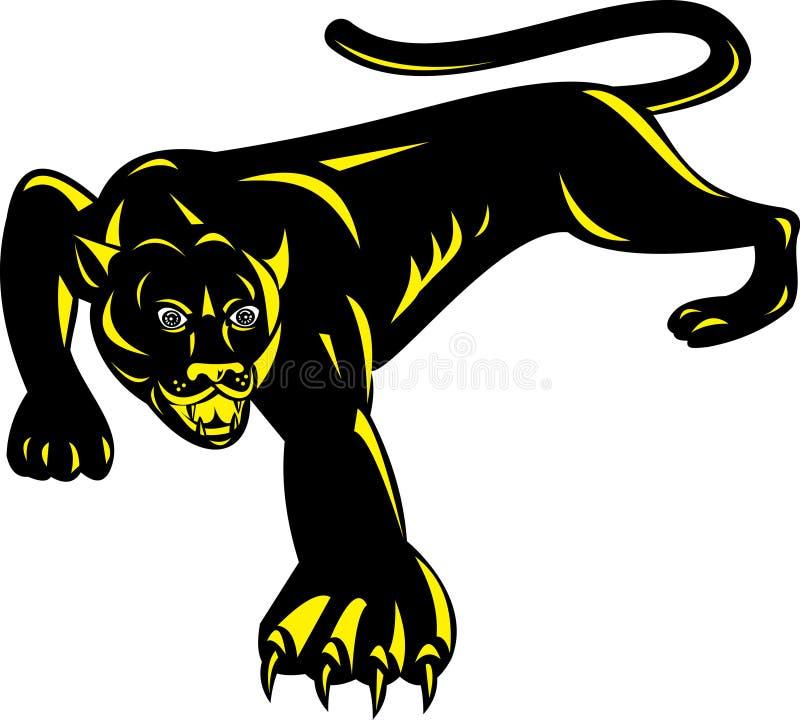 Jaguar ilustración del vector