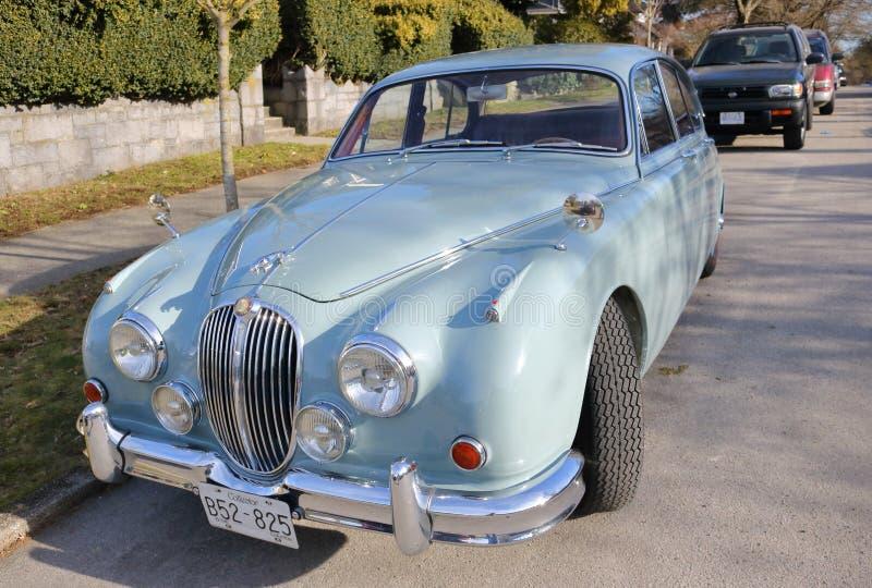 Jaguar completamente restaurado 1948 fotografía de archivo