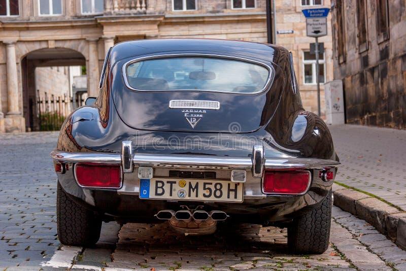Jaguar E-artig stockfotos