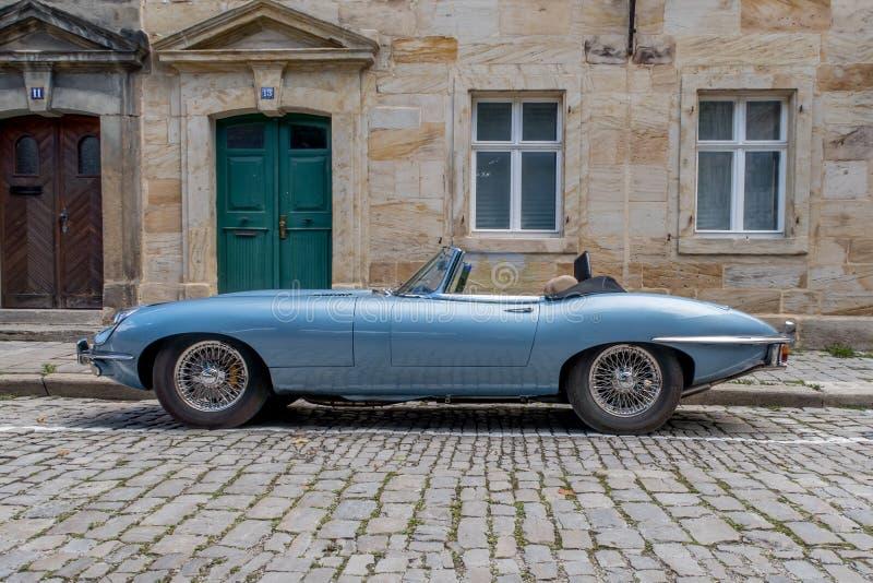 Jaguar-e-Type 4 2 stock fotografie