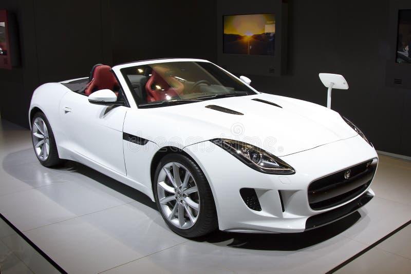 Jaguar F-typ royaltyfria bilder