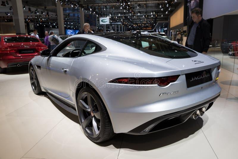 Jaguar f-typ bil royaltyfria foton