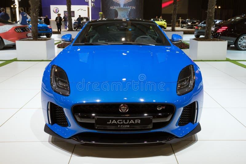 Jaguar F-typ sportbil arkivfoton