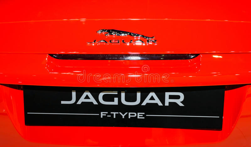 JAGUAR F-TYPE arkivfoto