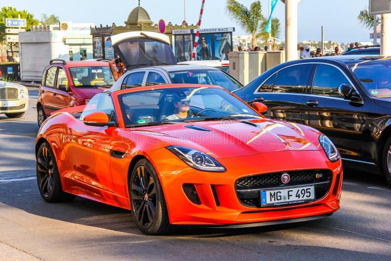 Jaguar F-Type stock photo