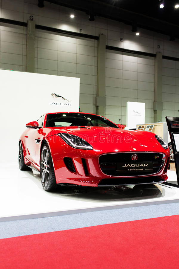 Download Jaguar f-type coupe editorial stock image. Image of drive - 43633989