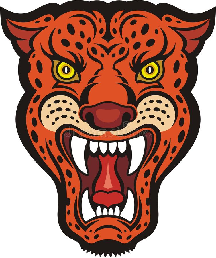 Jaguar royalty free illustration