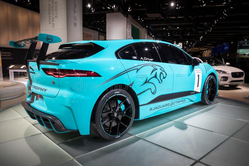 Download Jaguar I Pace E Trophy All Electric SUV Racing Car Editorial Photo