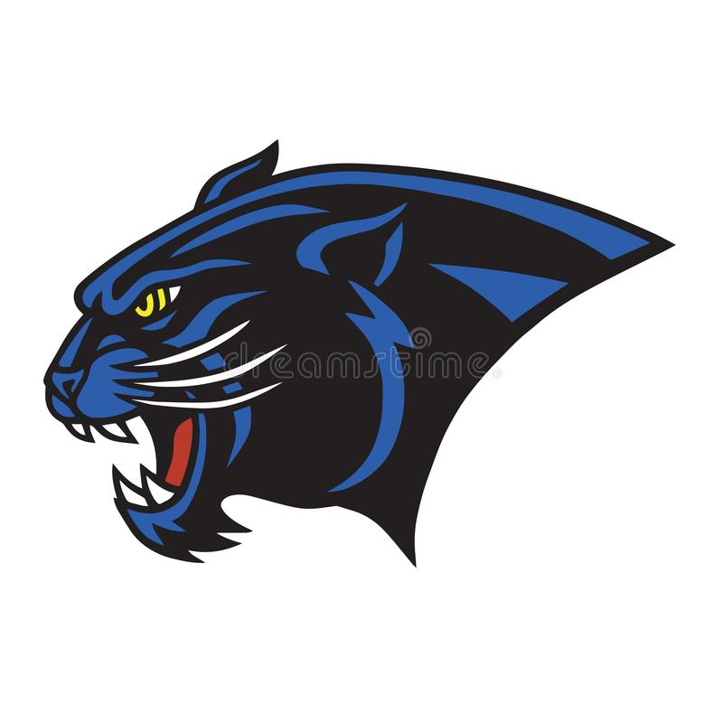 Jaguar Logo Vetora Mascot ilustração royalty free