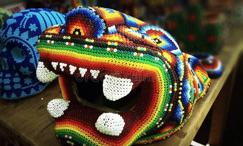 Jaguar mexicain de crâne photographie stock libre de droits