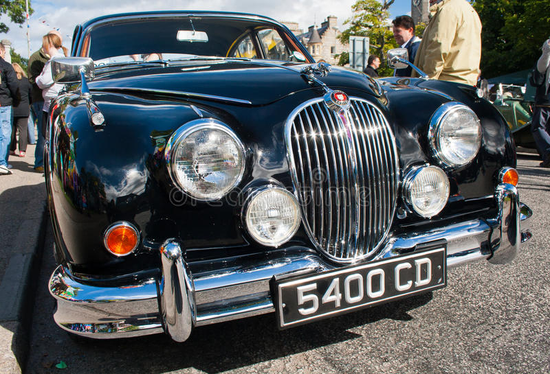 Jaguar MK2 royalty free stock image