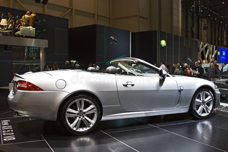 Jaguar neuf XK 5.0 V8 photo libre de droits