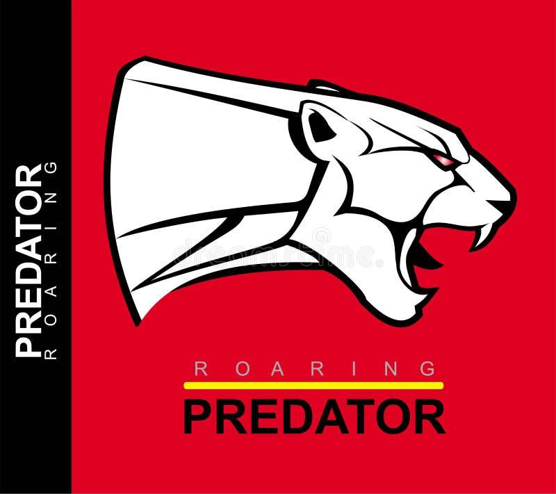 Black Jaguar Growl: Growling Panther, Black Jaguar Mascot Logo Design For E