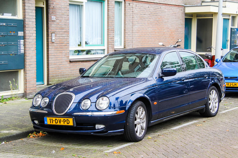 Jaguar S-Type royalty free stock photos