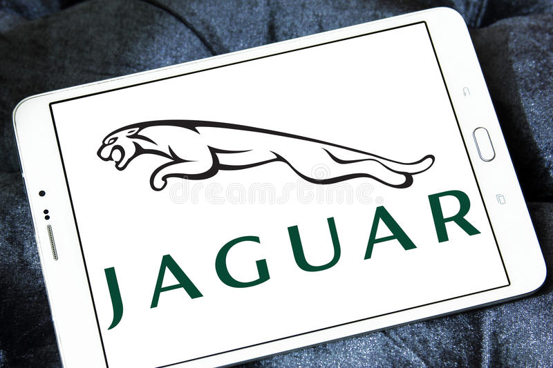 Jaguar samochodu logo zdjęcie royalty free