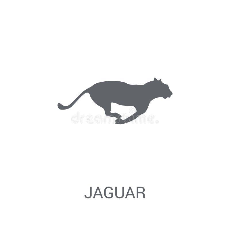 Jaguar symbol  royaltyfri illustrationer