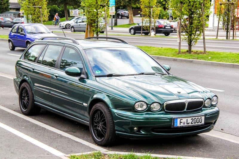 Jaguar X-Type royalty free stock photos