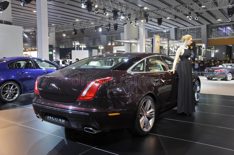 Jaguar XJ Editorial Stock Photo