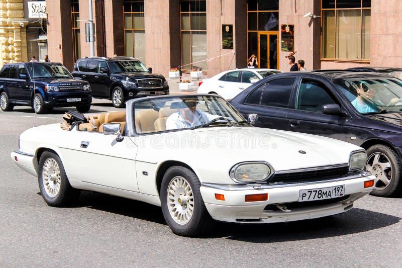 Jaguar XJ-S stock photos