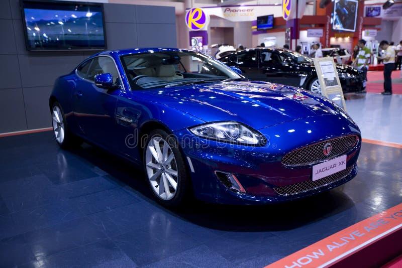 The Jaguar XK car royalty free stock photo