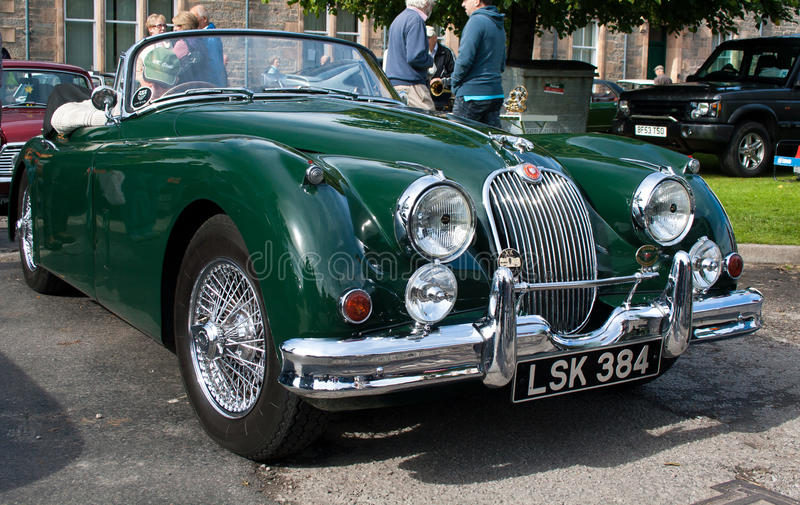 Jaguar XK150 stock photography