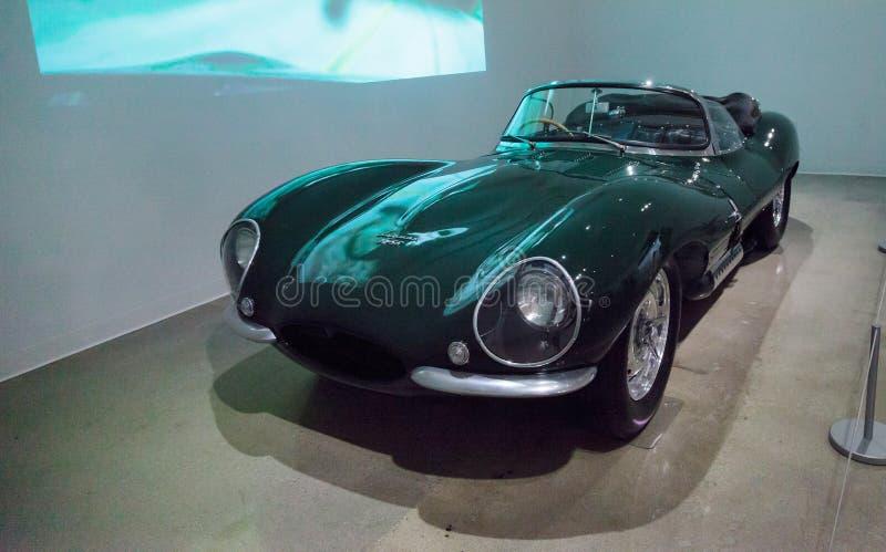 Jaguar 1956 XKSS imagen de archivo