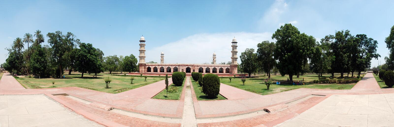 Jahangeer's tomb stock photo