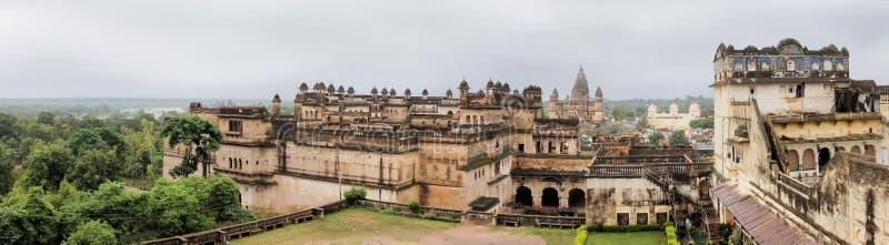 Jahangir Mahal maharaja pałac, Orchha, India obraz royalty free