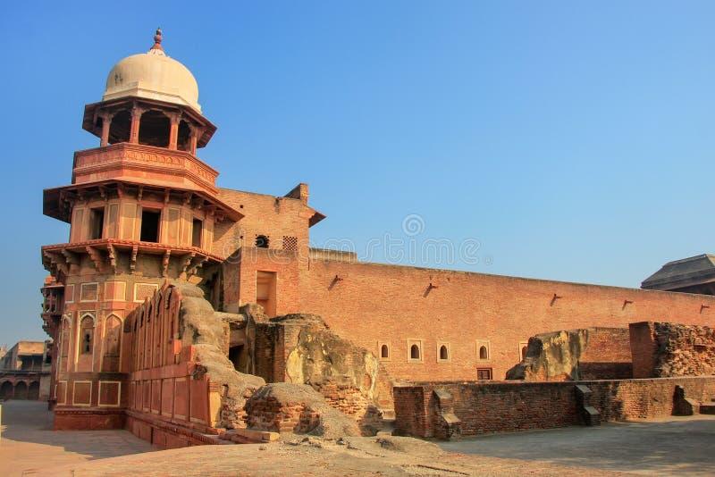 Jahangiri Mahal στο οχυρό Agra, Ουτάρ Πραντές, Ινδία στοκ φωτογραφίες