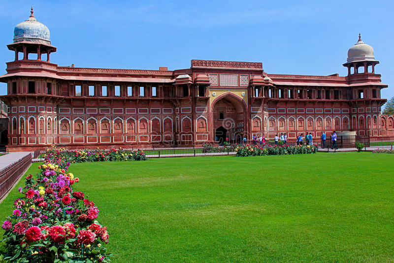Jahangiri Mahal, Agra Fort lizenzfreie stockbilder