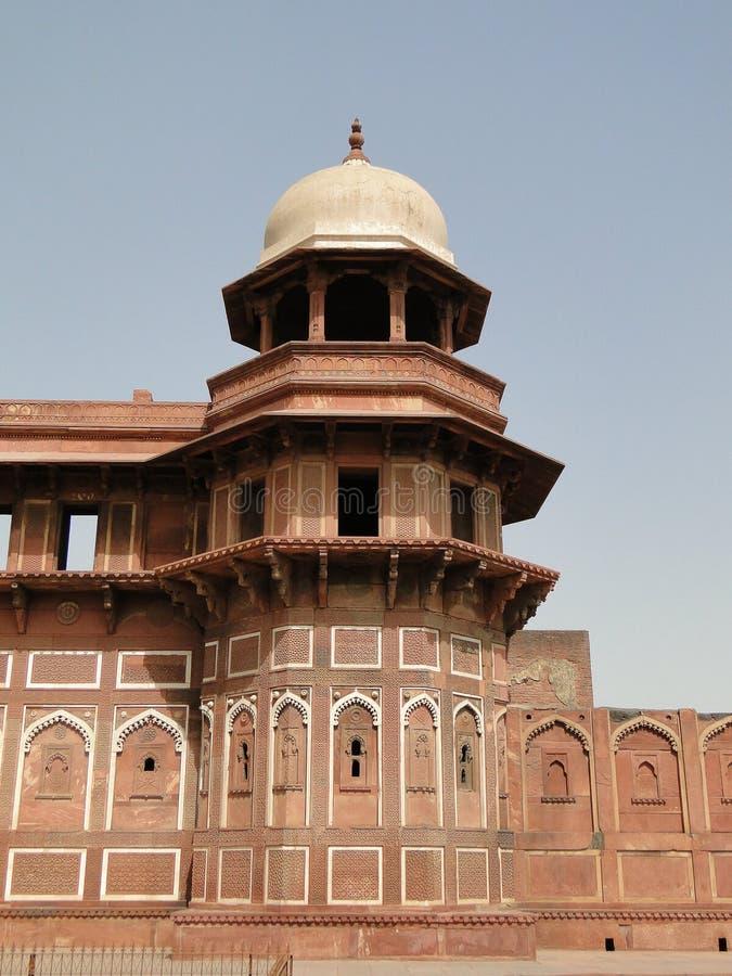 Jahangiri Mahal au fort d'Âgrâ. photos libres de droits