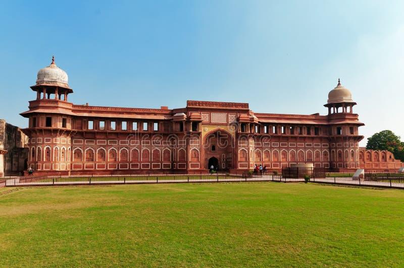 Jahangiri Mahal im Agra-Fort lizenzfreies stockbild