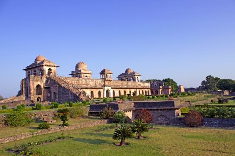Jahaz Mahal arkivbilder