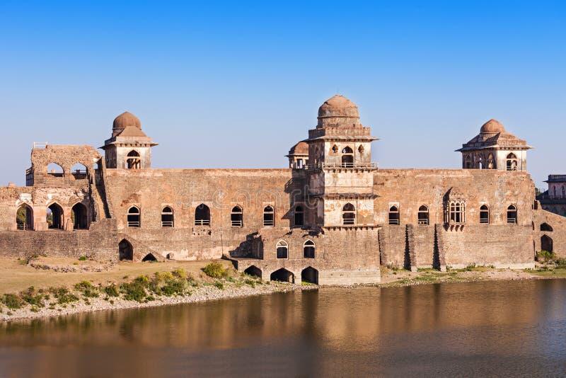 Jahaz Mahal, Mandu fotografia stock