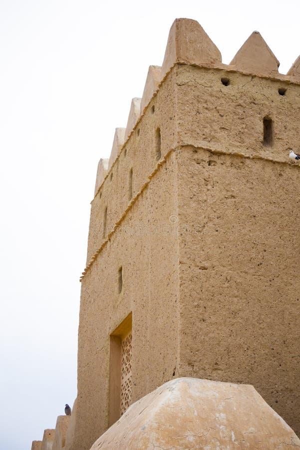 Jahili堡垒在艾因,阿拉伯联合酋长国 免版税库存照片