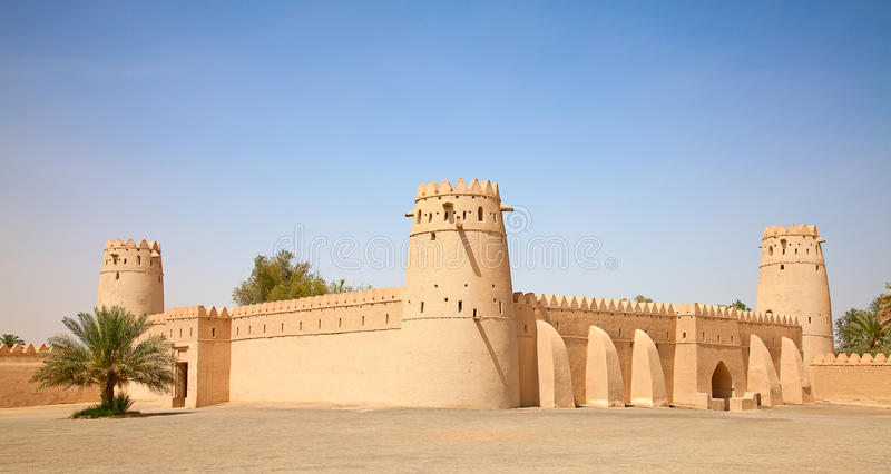 Jahili fort royaltyfria foton