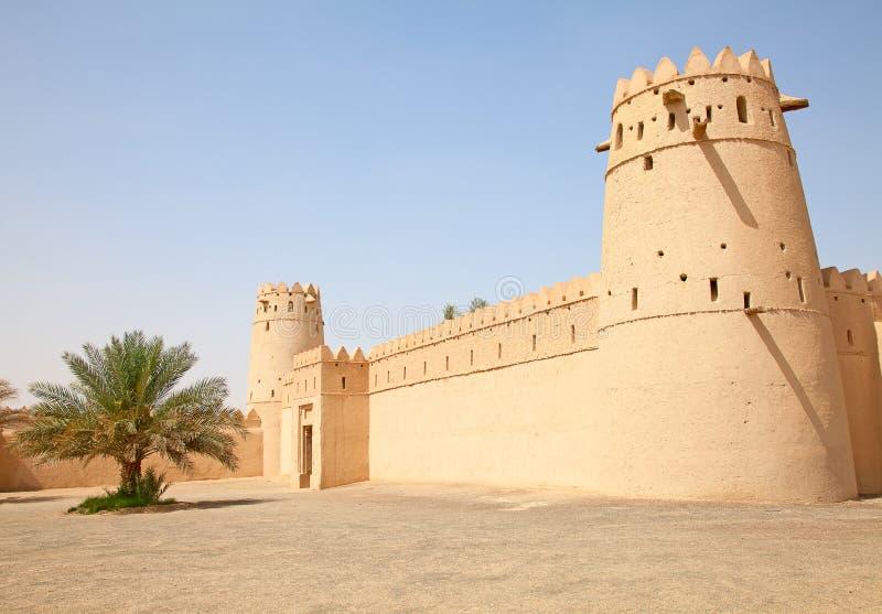 Jahili fort royaltyfri fotografi
