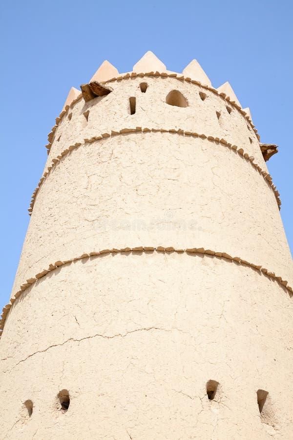 Jahili fort arkivfoto