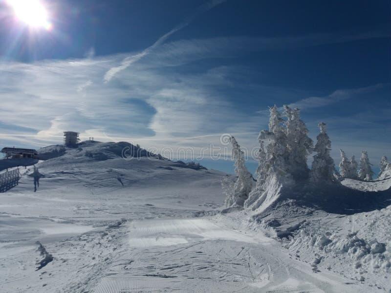 Jahorina g?ra - o?rodek narciarski zdjęcie royalty free