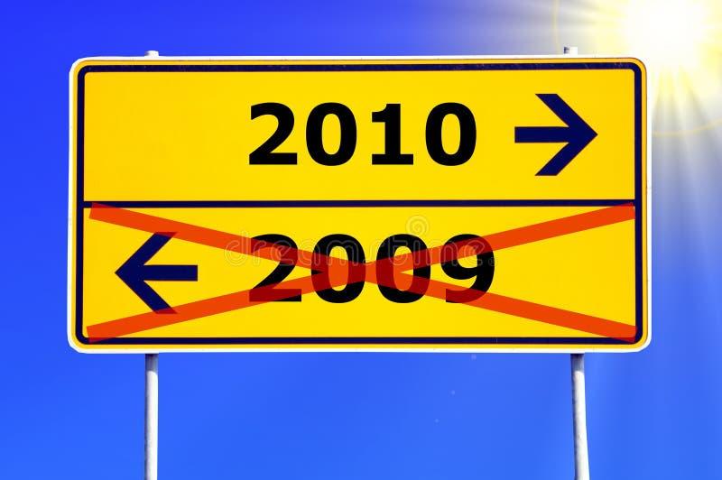 Jahr 2010 stockfoto