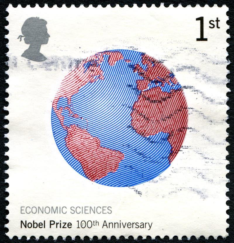 100. Jahrestags-BRITISCHE Briefmarke lizenzfreies stockfoto