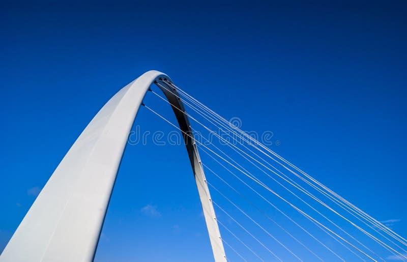 Jahrtausend-Brücke - Kai stockfoto